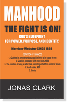 """Men, manhood, and what it means to be a man are under attack by radical feminists, homosexuals, and transgenders. They say men are obsolete and not needed anymore. They are doing their best to dismantle God's design and definition of manhood.   These sexually confused say that manhood is toxic and traditional masculinity is harmful to society. Their approach is to delete offensive words that describe the male species such as him, he, male, men, and mankind. One writer said that hatred of women is innate and inescapable within men.  The man is the key to biblical infrastructure in families, communities, and ultimately the nations. You have heard it said, """"As it goes with the family, so goes it with the world."""" It's time to kick the politically correct cult out of the home and put father back into the family. This book is about God's blueprint for power, purpose, and identity."""