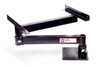 Pivots the forge for quick and smooth access in a vehicle and safe stowage when moving