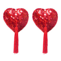 Bristols 6 - Nippies Gold Gypsy Rose Red Hearts A/B