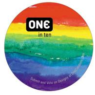 ONE Condoms Tub of 100 Pride Mix
