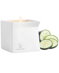 Afterglow Natural Massage Candle - Cucumber Water
