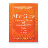 Afterglow Cleansing Tissues for Intimate Fitness - 50 Singles