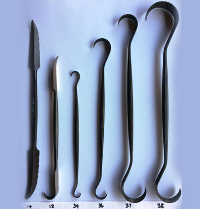 Italian Steel Art Plaster Tools