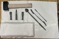 marble STONE HAND TOOL CARVING KIT