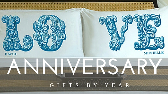 Wedding Anniversary Traditional Gift List: Traditional & Modern Lists