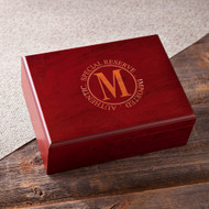 Personalized Rosewood Humidor