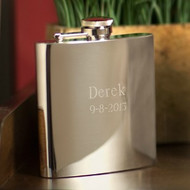 Personalized Steel Flask