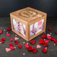 Personalized Couples Photo Cube