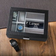 Personalized Watch and glasses case