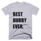 Best Hubby Ever T-Shirt in Heather Grey