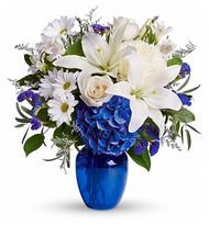 Blue Sapphire Anniversary Flowers