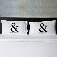 Mr & Mrs Pillowcases