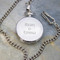 Couples names engraved on front of Anniversary Pocket Watch