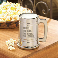 Personalized Legend Anniversary Beer Mug