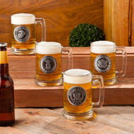 Personalized Military Anniversary Stein