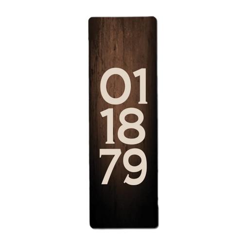 Anniversary date board