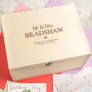 Personalized Wedding Souvenir Box