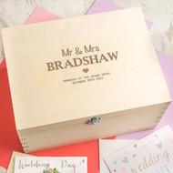 Personalized Wedding Souvenir Box