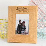 Personalized Couples Adventure Frame