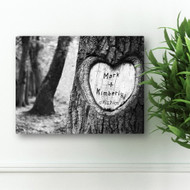 Anniversary date tree canvas