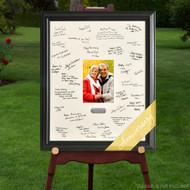 Anniversary signature frame