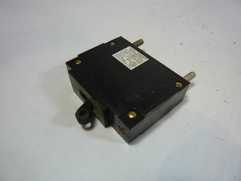 Heinemann AM1-A3-W Bullet Circuit Breaker 5Amp 250V  USED