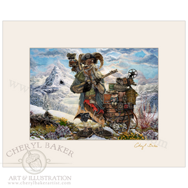 The Yeti Trapper with Lovely Mat