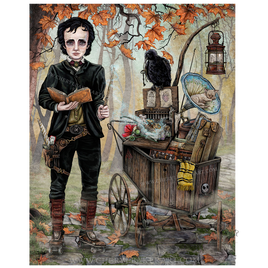 Edgar Allan Poe Goes to a Magical School