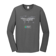 Foundation World - Charcoal Grey Long Sleeve Tee