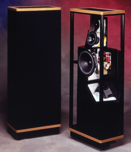 Vandersteen 2Ce Sig Mark II inc pedestals Walnut Finish (pair)