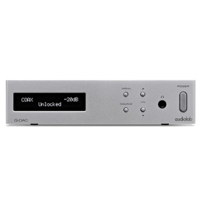 Audiolab Q-DAC New Silver or Black ex demo