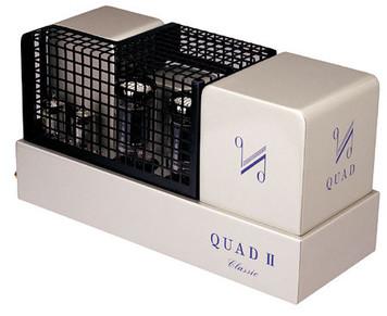 Quad II Classic Valve Mono Block Amplifiers . Classic finish. Pair (Ex Demo)
