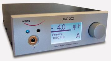 Weiss DAC202 FireWire D/A converter Silver Ex Demo
