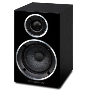 Wharfedale Diamond 210 Bookshelf Speaker. Black. (pair)