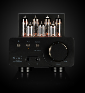 Quad VA-One+ Stereo Amplifier With Built-In DAC And Bluetooth Lancaster Gray.