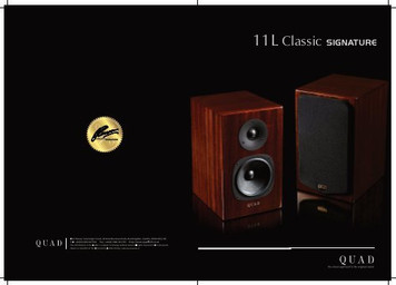 QUAD 11L Classic Signature Series Piano Gloss Sapele Mahogany Bookshelf Speakers