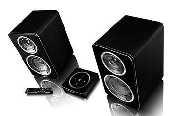 Wharfedale Diamond A1 Active Bookshelf Speakers (Pair)