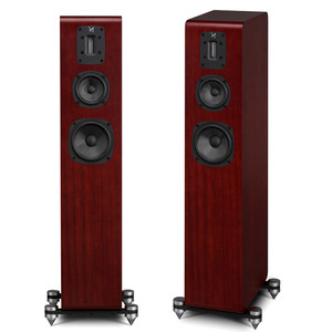 QUAD S-4 Version One Floorstanding Speakers. Black. Limited Edition