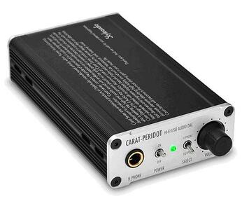 StyleAudio Carat PERIDOT USB DAC and Headphone Amplifier
