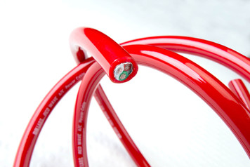 DH Labs Red Wave Premium A/C Power Cable  (Per Meter).