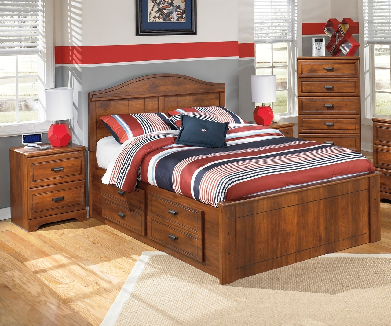Barchan Captains Bed Full Size
