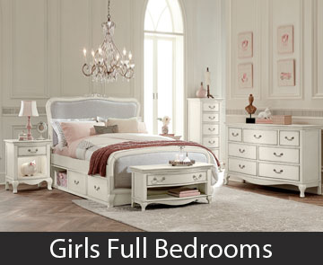 Girls Full Bedrooms