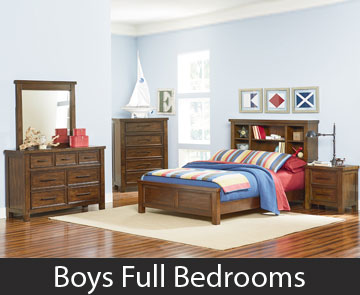 Boys Full Bedrooms