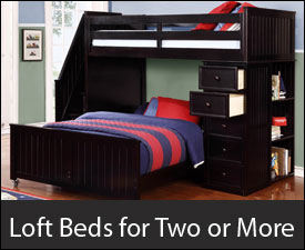 Loft Beds for Two or More