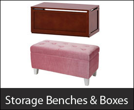 Storage Benches & Boxes