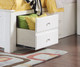 Mallowsea Bookcase Storage Bed Twin Size White | Acme Furniture | ACM-30420T