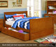 Allen House Chatham Full over Full Bunk Bed White | Allen House | AH-BB-FF-01