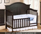 Allen House Waterford Curved Convertible Crib Graphite Grey | 23708 | AH-C-WCPC-09