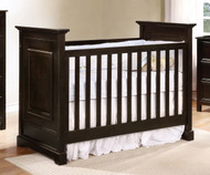 Allen House Waterford Classic Panel Crib Graphite Grey | Allen House | AH-C-WP-09