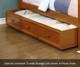 Allen House Brandon Bunk Bed with Stairs White | 23734 | AH-J-TT-01-STR-T-J